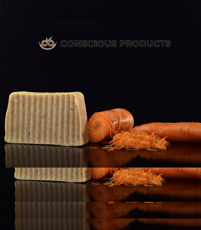 carrot soap, conscious products & services