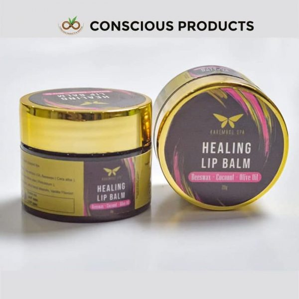 healing lip balm, conscious products and services